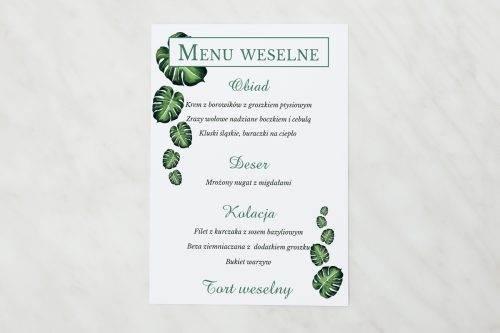 menu weselne eukaliptus