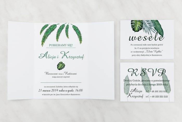 Eukaliptus---Zaproszenie-z-dwoma-karteczkami