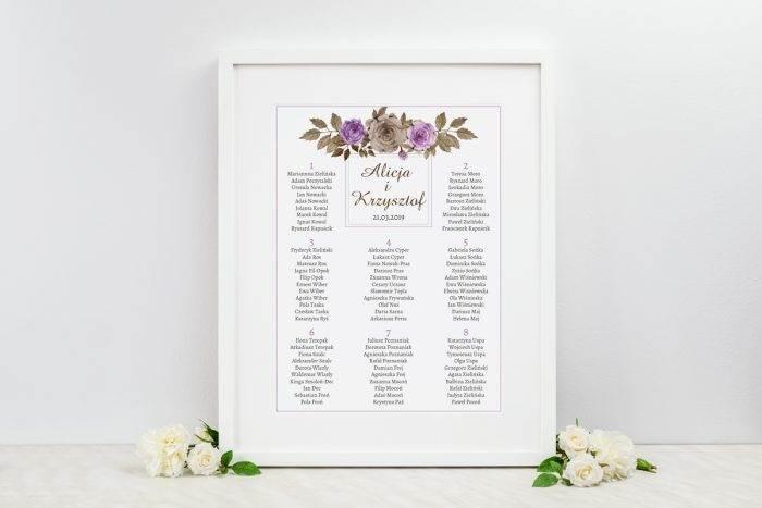 plan-stolow-weselnych-do-zaproszenia-kwiaty-z-nawami-fioletowe-roze-dodatki-ramka-papier-satynowany