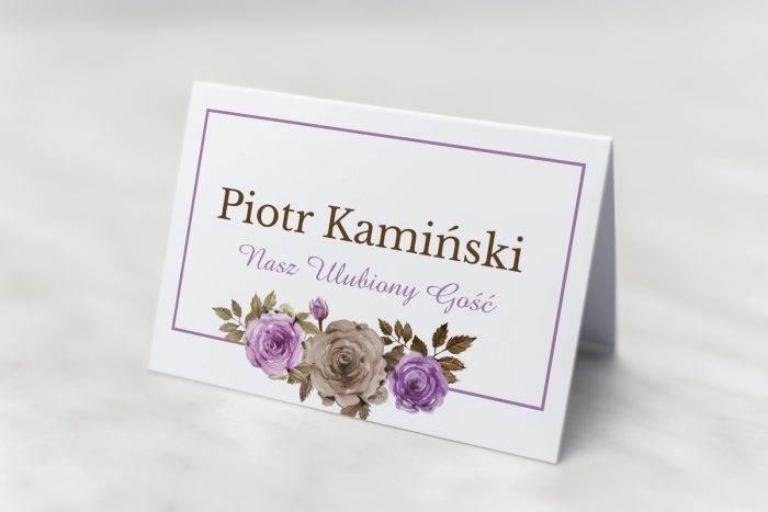 winietka-slubna-do-zaproszenia-kwiaty-z-nawami-fioletowe-roze-papier-matowy