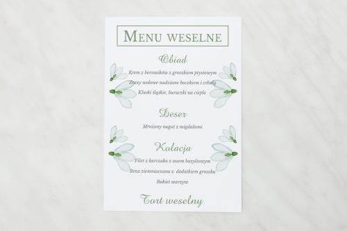 menu weselne frezje
