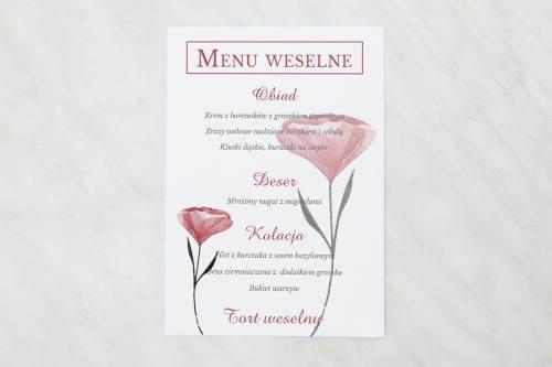 menu weselne hibiskus