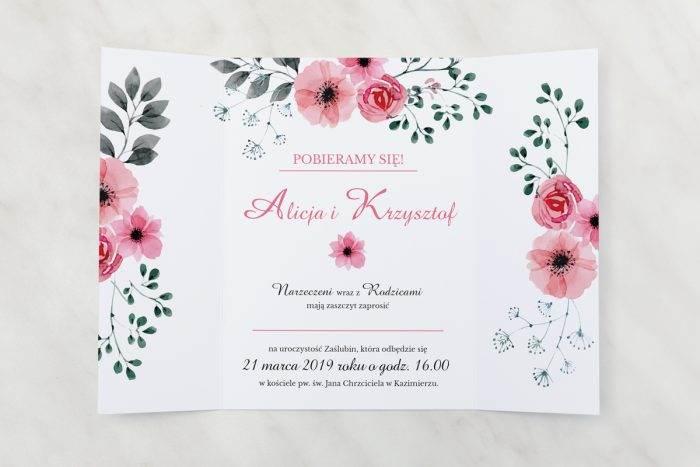 Kwiatuszki-pink---zaproszenie-otwarte