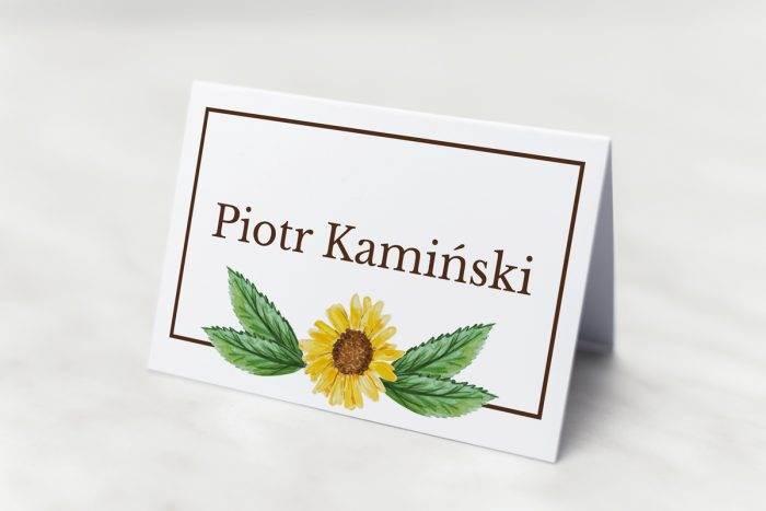 winietka-slubna-do-zaproszenia-kwiaty-z-nawami-sloneczniki-papier-matowy