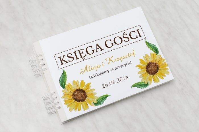 ksiega-gosci-slubnych-kwiaty-z-nawami-sloneczniki-papier-satynowany-dodatki-ksiega-gosci