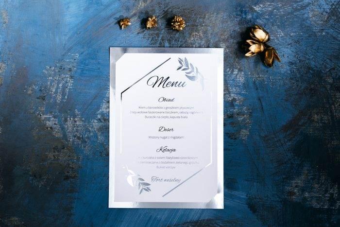 menu-weselne-srebrne-lustro-liscie-eukaliptusa-papier-matowy-podkladki--foliowanie-