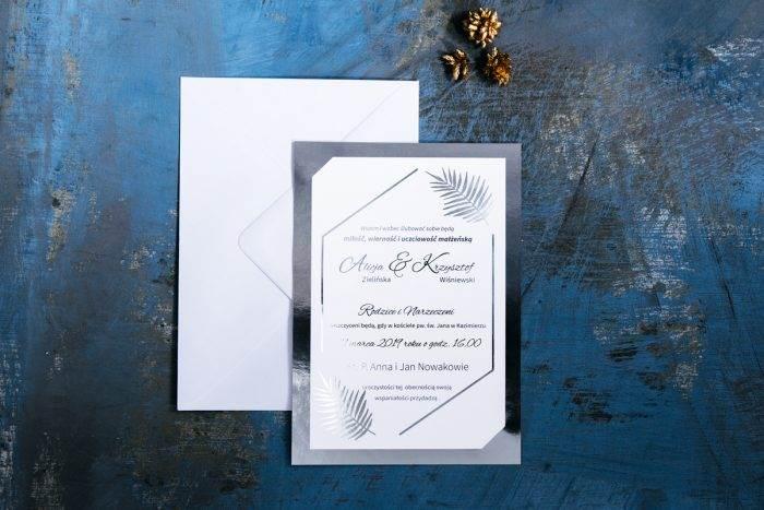 zaproszenie-slubne-srebrne-lustro-lesne-paprocie-papier-matowy-podkladki--foliowanie-