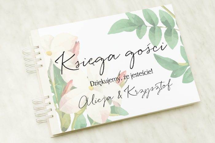 ksiega-gosci-slubnych-barwinek-papier-satynowany-dodatki-ksiega-gosci