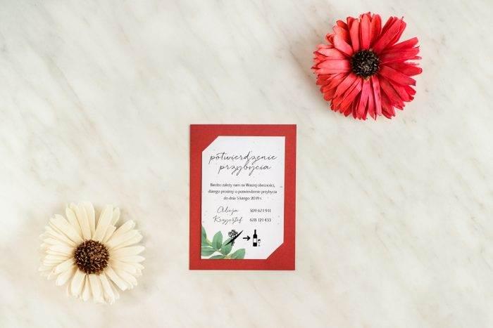 dodatkowa-karteczka-rsvp-burgundowa-barwinek-podkladki--papier-matowy