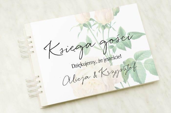 ksiega-gosci-slubnych-roza-ecru-papier-satynowany-dodatki-ksiega-gosci
