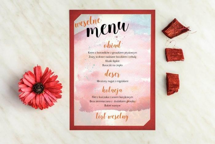 menu-weselne-burgundowe-artystyczne-plamy-podkladki-granatowa-menu-papier-satynowany