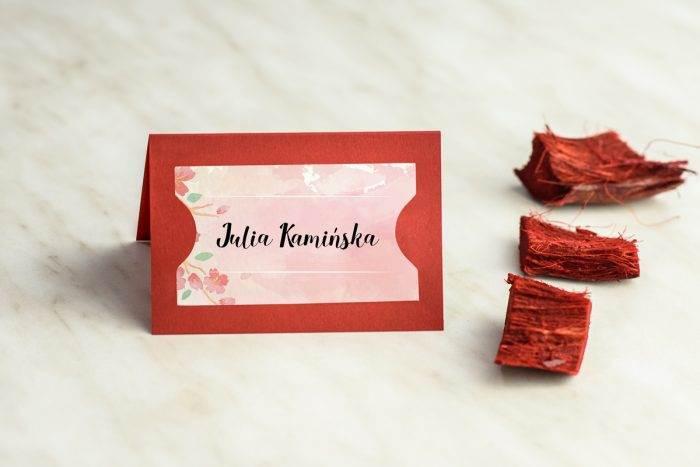winietka-slubna-do-zaproszenia-burgundowe-kwiaty-wisni-papier-satynowany-podkladki-granatowa-winietka