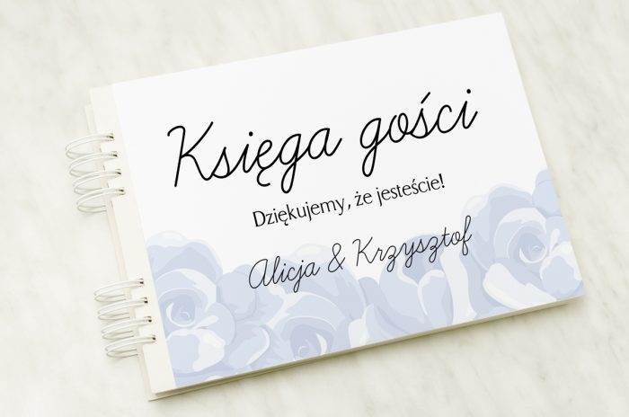 ksiega-gosci-slubnych-niebieskie-roze-papier-satynowany-dodatki-ksiega-gosci