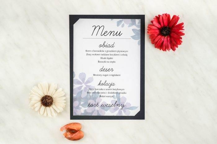 menu-weselne-granatowe-wiosenny-bukiet-podkladki-granatowa-menu-papier-satynowany