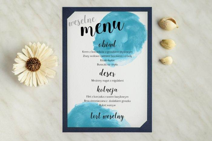 menu-weselne-granatowe-blekitny-odcisk-podkladki-granatowa-menu-papier-satynowany