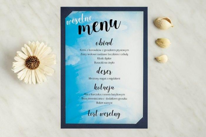 menu-weselne-granatowe-rozlana-farba-podkladki-granatowa-menu-papier-satynowany