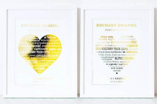 Podziękowania Dla Dziadków Z Miloscipl Zaproszenia ślubne Oraz