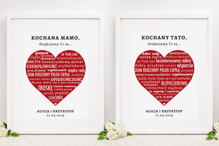 komplet-dwoch-ramek-z-podziekowaniami-dla-rodzicow-napisy-w-czerwonym-sercu-dodatki-ramka-papier-matowy