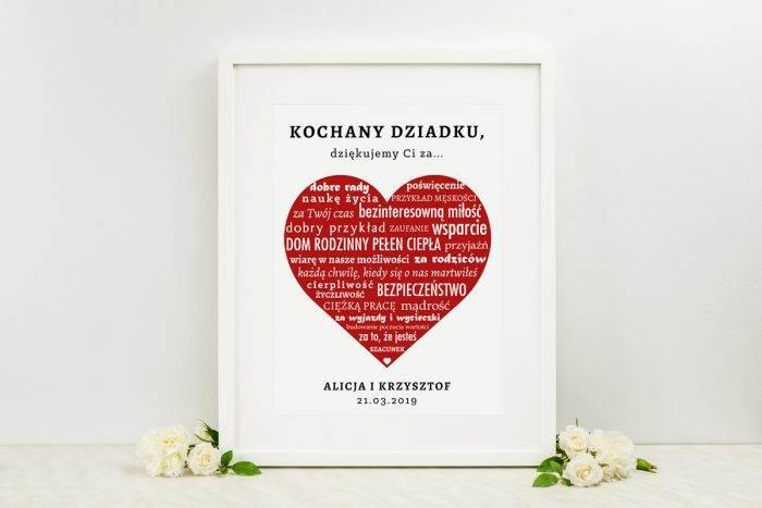 podziekowanie-w-ramce-dla-dziadka-napisy-w-czerwonym-sercu-dodatki-ramka-papier-matowy