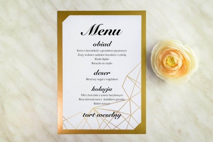 menu-weselne-zlote-metaliczne-geometryczny-ksztalt-papier--podkladki-
