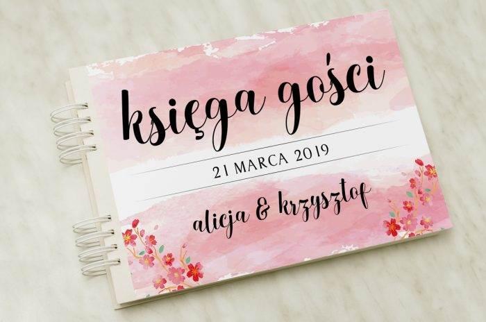 ksiega-gosci-slubnych-kwiaty-wisni-papier-satynowany-dodatki-ksiega-gosci