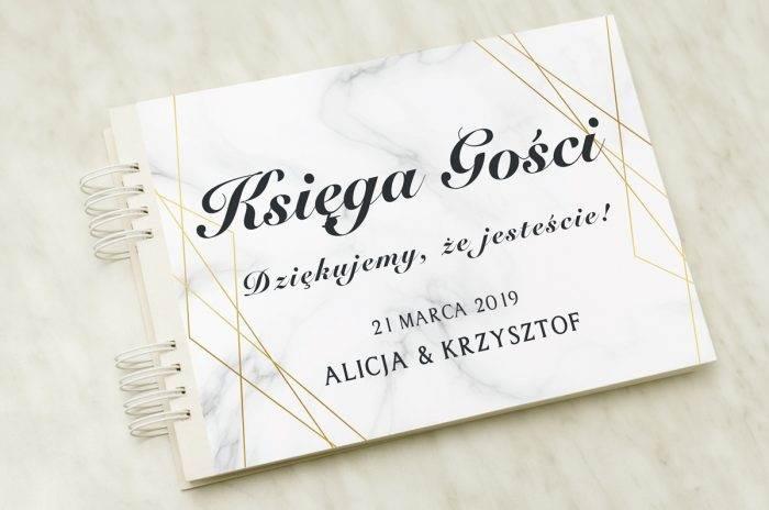 ksiega-gosci-slubnych-linie-geometryczne-papier-matowy-dodatki-ksiega-gosci
