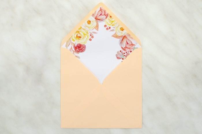 koperta-kwadratowa-pomaranczowa-z-wklejka-akwarelowe-roze-koperta-