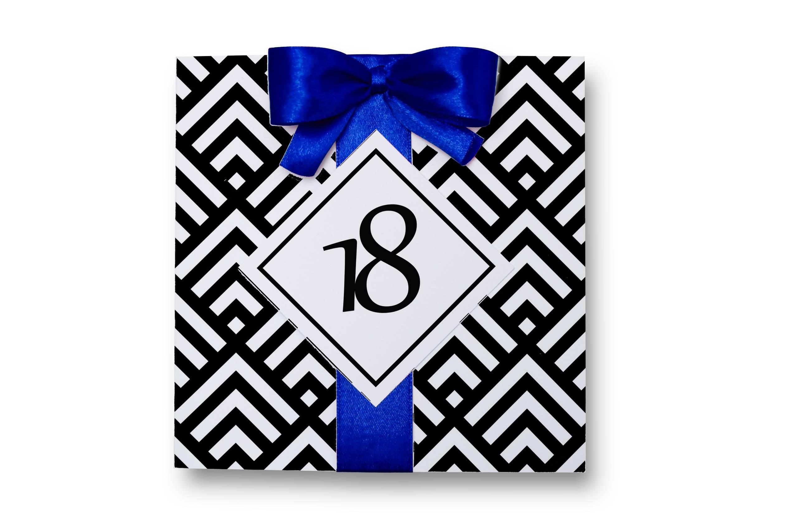 Zaproszenia na 18. urodziny