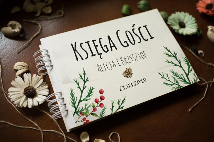 ksiega-gosci-slubnych-rustykalna-zimowa-jalowiec-papier-satynowany-dodatki-ksiega-gosci