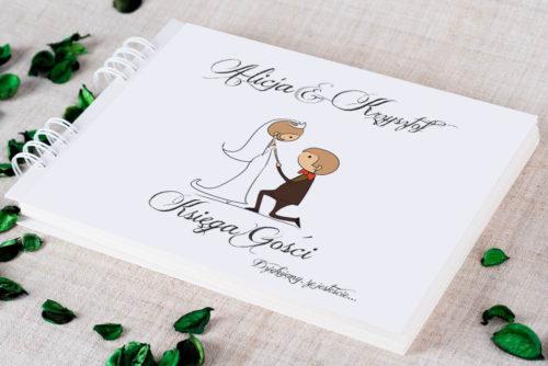 Księga gości ślubnych - Lolki oświadczyny