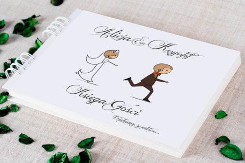 Księga gości ślubnych - Lolki Uciekający Pan Młody