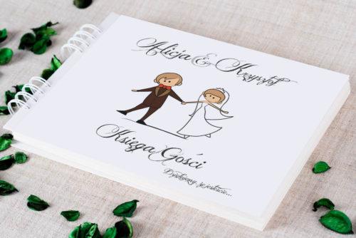 Księga gości ślubnych - Lolki tańczące