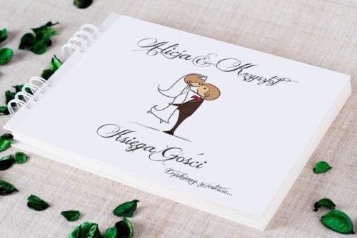 Księga gości ślubnych - Lolki w objęciach