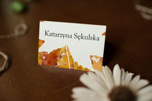 Winietka ślubna - Jesienny Ślub