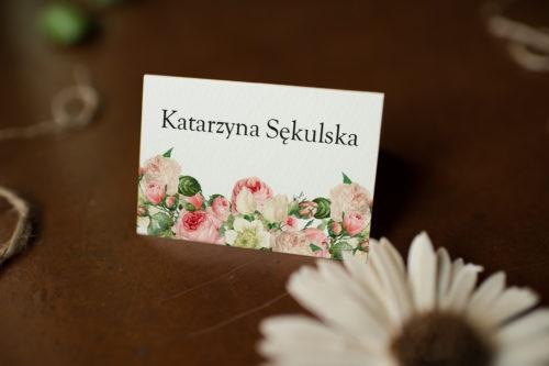 Winietka ślubna - Kremowa Fantazja Z Różą