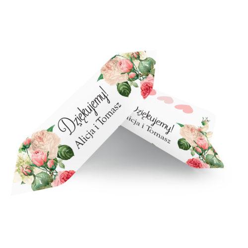 Krówki ślubne 1 kg - Kremowa Fantazja Z Różą