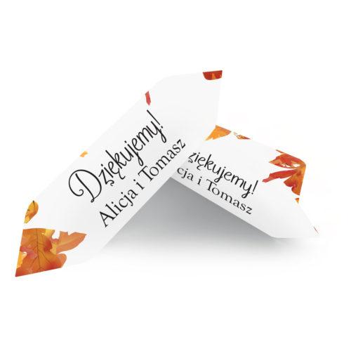 Krówki ślubne 1 kg - Jesienny Ślub