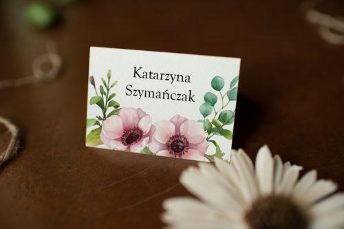 Winietka ślubna - Pastelowe kwiaty