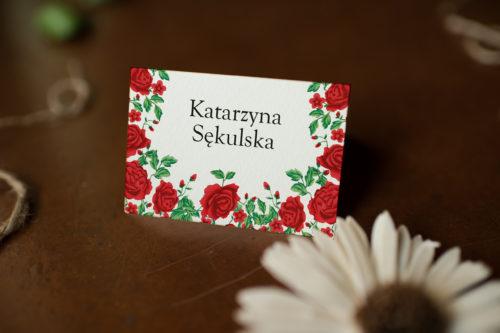 Winietka ślubna - Róże Z Chusty