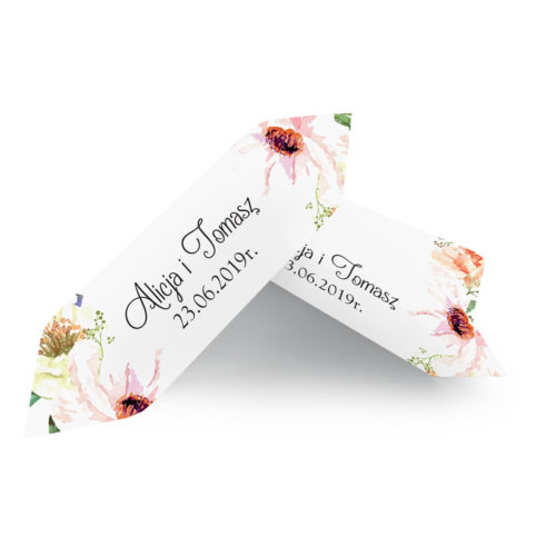 Krówki ślubne 1 kg - Słoneczne Kwiaty