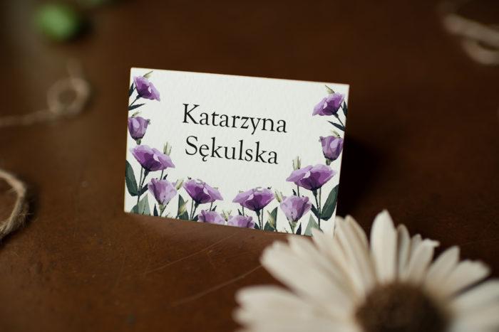 fioletowe-eustomy-zaproszenie-ze-zdjeciem-i-sznurkiem-winietka-papier-matowy