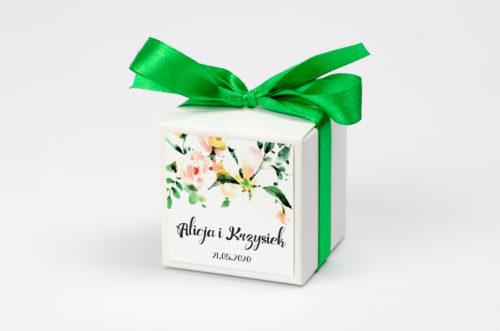 Pudełeczko z personalizacją Boho Biała Magnolia