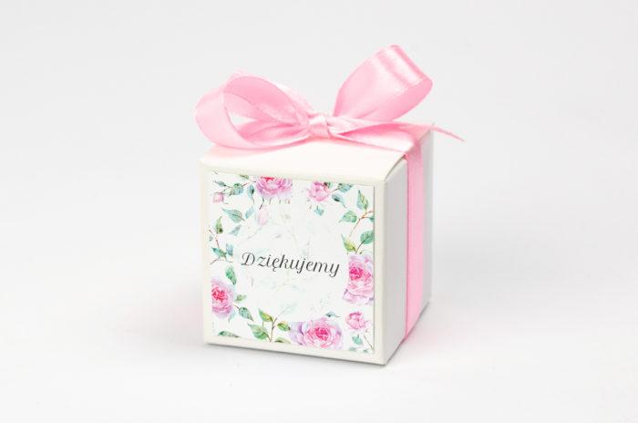 Pudełeczko z personalizacją - Kwiaty: róże