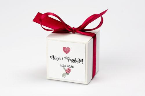 Pudełeczko z personalizacją - Kwiaty: różyczki