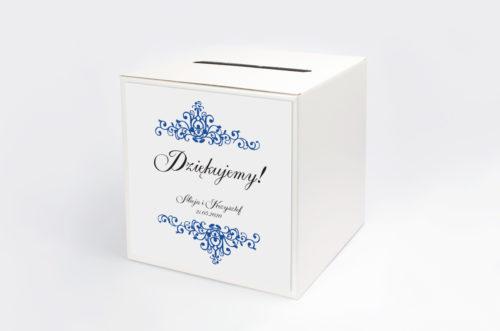eleganckie pudełko na koperty
