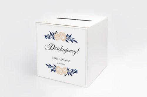 Personalizowane pudełko na koperty - Boho wzór 11