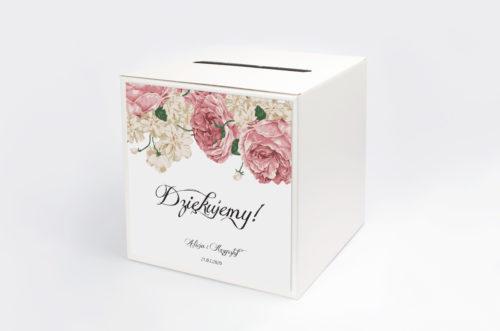 Personalizowane pudełko na koperty - Boho wzór 3