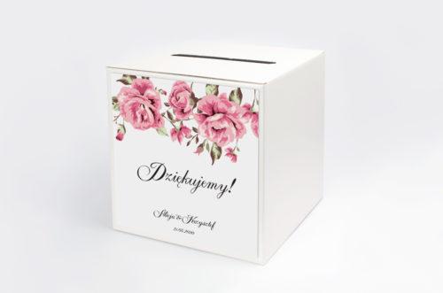 Personalizowane pudełko na koperty - Boho wzór 4