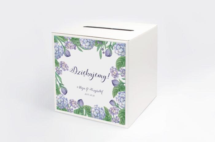 personalizowane-pudelko-na-koperty-do-zaproszen-kwadratowa-kartka-hortensje-papier-matowy