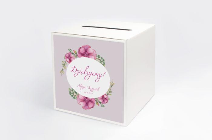 personalizowane-pudelko-na-koperty-kwiaty-piwonie-papier-matowy